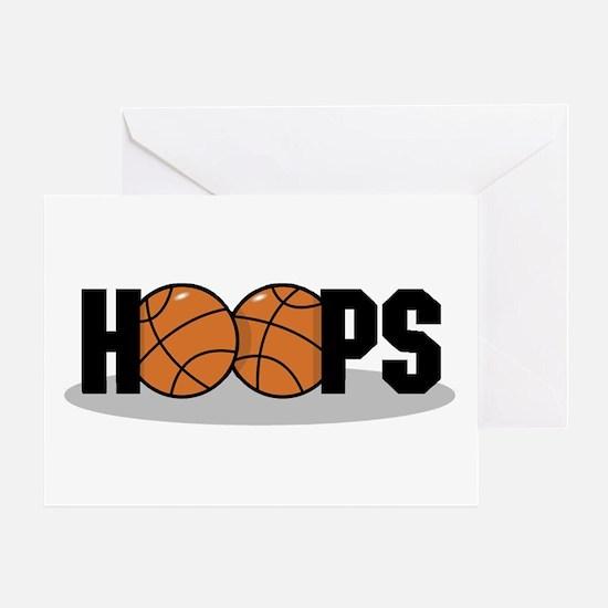 Basketball Hoops Greeting Card