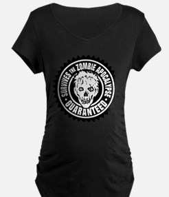 Survives the Zombie Apocalypse / Maternity T-Shirt