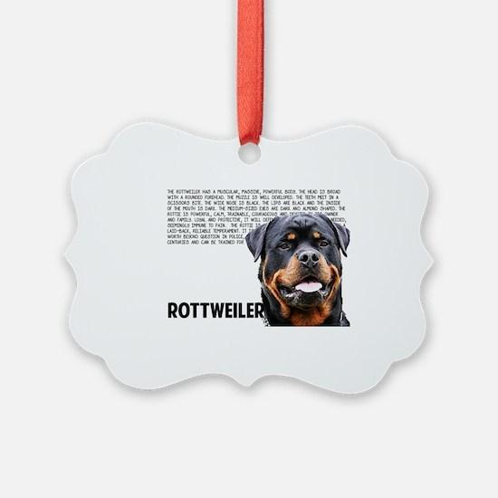 Cute Rottweilers Ornament
