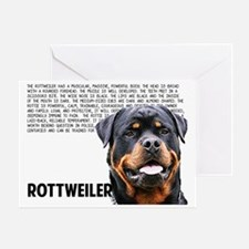 Funny Rottweiler Greeting Card