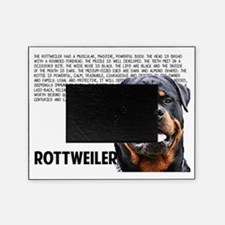 Unique Rottweiler Picture Frame