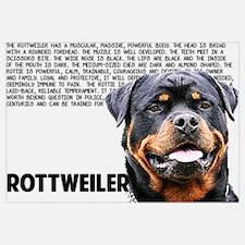 Funny Rottweiler Wall Art