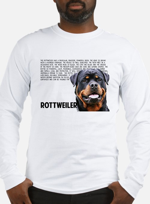 Cute Rott Long Sleeve T-Shirt