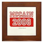 MCCAIN 2008 Framed Tile