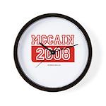 MCCAIN 2008 Wall Clock
