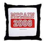 MCCAIN 2008 Throw Pillow