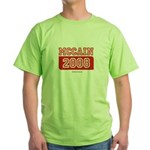 MCCAIN 2008 Green T-Shirt