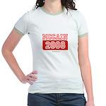 MCCAIN 2008 Jr. Ringer T-Shirt
