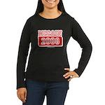 MCCAIN 2008 Women's Long Sleeve Dark T-Shirt