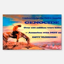 Genocide Decal
