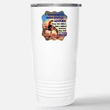 Genocide Stainless Steel Travel Mug