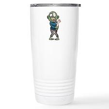 Zombie eating arm Travel Mug