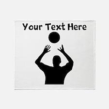 Volleyball Set Throw Blanket