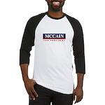 MCCAIN for President Baseball Jersey