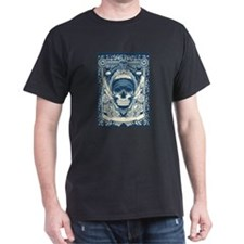 Zombie Skull Card Back T-Shirt