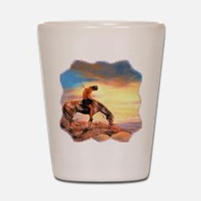 End of the Trail Shot Glass