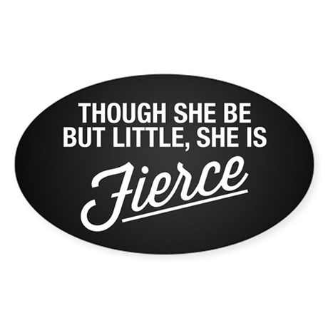 She Is Fierce Decal