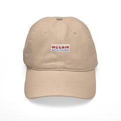 MCCAIN for President Cap