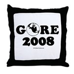 Gore 2008 Throw Pillow