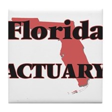Florida Actuary Tile Coaster
