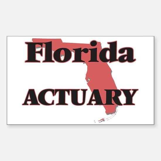 Florida Actuary Decal
