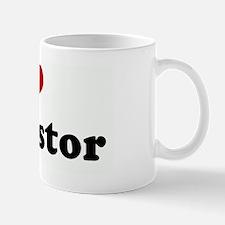 I Love My Pastor Mug