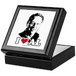 I Love Al Gore Keepsake Box