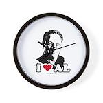 I Love Al Gore Wall Clock