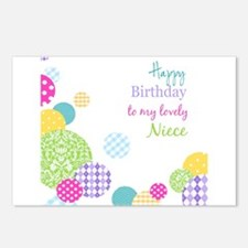 Happy Birthday Niece Postcards (Package of 8)