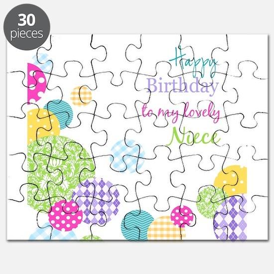 Happy Birthday Niece Puzzle