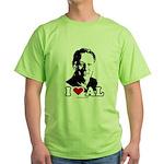 I Love Al Gore Green T-Shirt