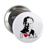 I Love Al Gore Button