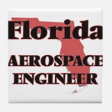 Florida Aerospace Engineer Tile Coaster