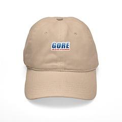 Gore for President Baseball Cap