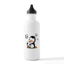 Soccer Penguin Sports Water Bottle