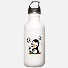 Soccer Penguin Sports Water Bottle