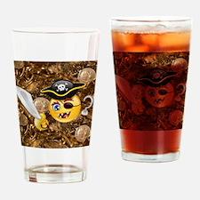 pirate emojis Drinking Glass
