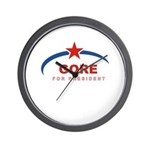 Gore for President Wall Clock