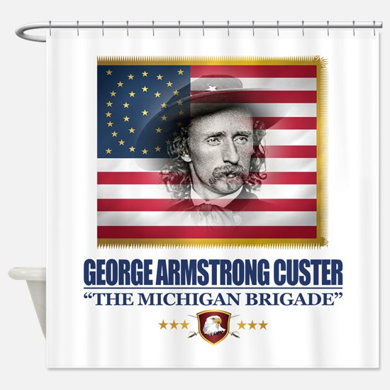 Custer (C2) Shower Curtain