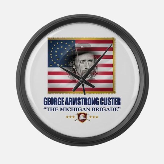 Custer (C2) Large Wall Clock
