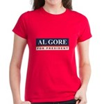 Al Gore for President Women's Dark T-Shirt