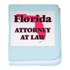 Florida Attorney At Law baby blanket
