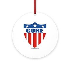 Gore Ornament (Round)