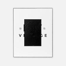 Paris France Vintage Logo black Picture Frame