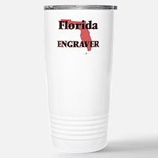 Florida Engraver Stainless Steel Travel Mug