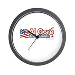 Al Gore for President Wall Clock