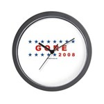 Gore 2008 Wall Clock