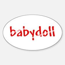 Babydoll Decal