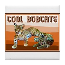 Cool Bobcats - Tile Coaster