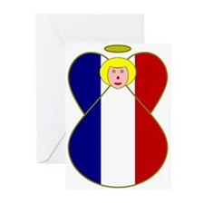 frenchangelBlond Greeting Cards